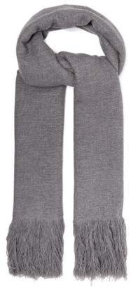 Isabel Marant Cashmere Blanket Scarf - Womens - Grey