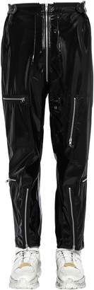 Maison Margiela Vinyl Cargo Pants W/ Zips