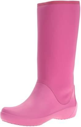 Crocs Women's Rain Floe Tall Boot