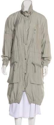 AllSaints Lightweight Long Coat