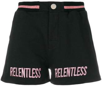Zoe Karssen relentless embroidered shorts