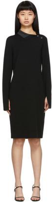 Proenza Schouler Black Merino Long Sleeve Dress