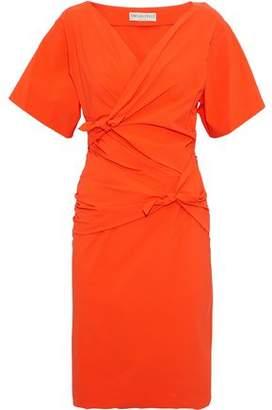 Emilio Pucci Knotted Crepe De Chine Dress