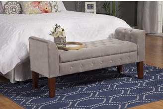 Three Posts Wilford Upholstered Storage Bench