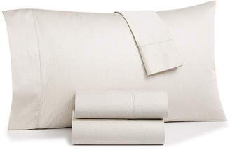 Hotel Collection Closeout! Herringbone 4-Pc. Queen Sheet Set