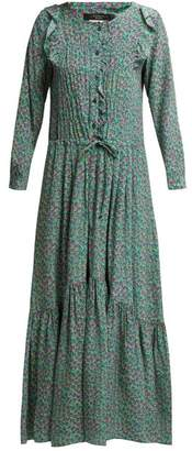 Max Mara Agiate Dress - Womens - Green Print