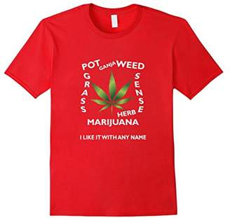 Weed Marijuana Cannabis Pot Grass Lovers T Shirt