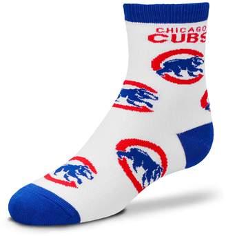 For Bare Feet Newborn Chicago Cubs Socks