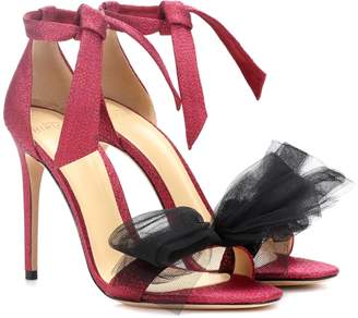 Alexandre Birman Exclusive to mytheresa.com Clarita lame and tulle sandals