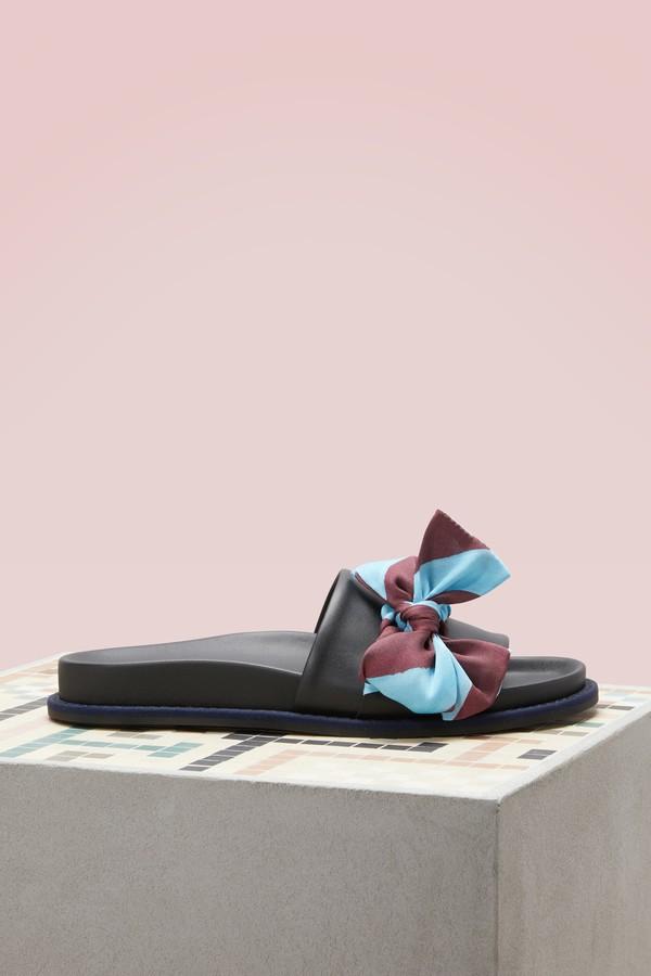 Fendi Ribbon sandals