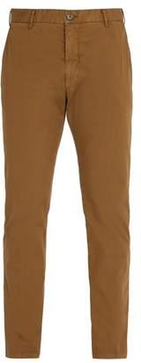 J.w.brine J.W. Brine J.w. Brine - Owen Straight Leg Cotton Chinos - Mens - Brown
