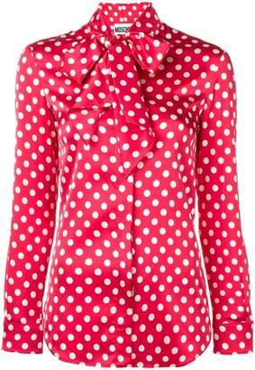Moschino polka dots blouse