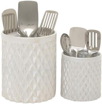 UMA Enterprises 2Pc Kitchen Utensil Jar Set