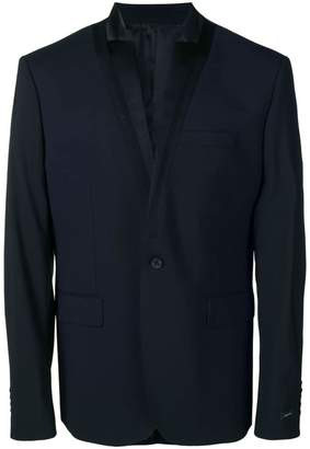 Les Hommes classic single-breasted blazer