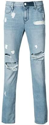 RtA ripped slim-fit jeans