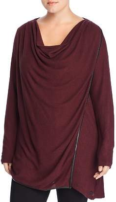 Andrew Marc Plus Hachi Thermal Overlay Top