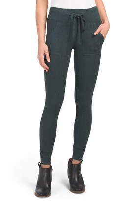 Juniors High Rise Skinny Jogger Pants