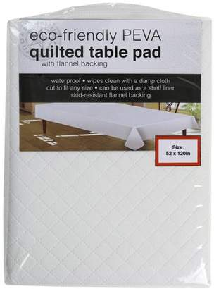 Sultans Linens Sultan Linens PEVA 52 x 120 In. Tablepad, White