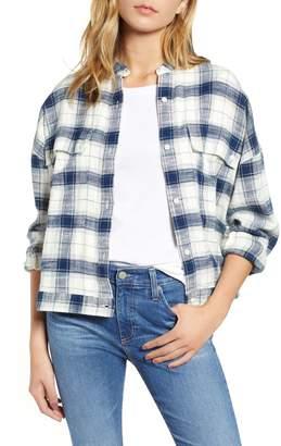 AG Jeans Smith Plaid Shirt Jacket