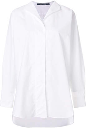 Sofie D'hoore open collar blouse