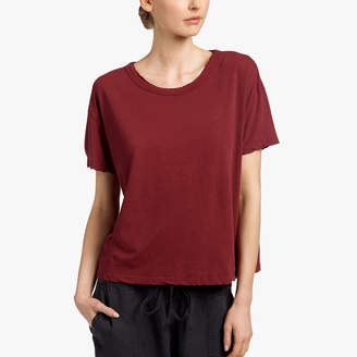 James Perse COTTON LINEN SLUB TEE