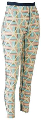 L.L. Bean L.L.Bean Cresta Wool Midweight Base Layer Pants, Print