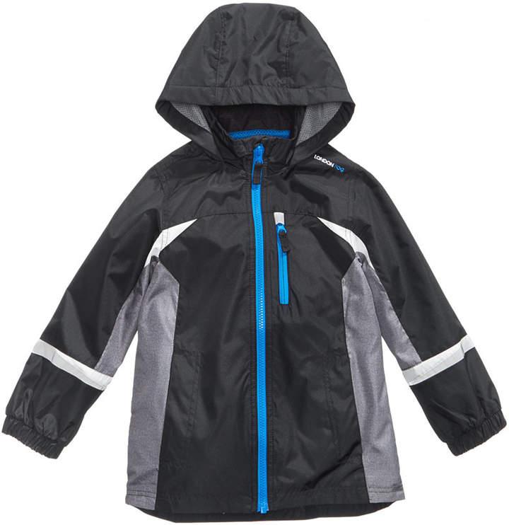 Hooded Colorblocked Windbreaker Jacket, Little Boys