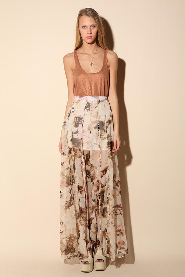Shakuhachi Day Tripper Maxi Skirt