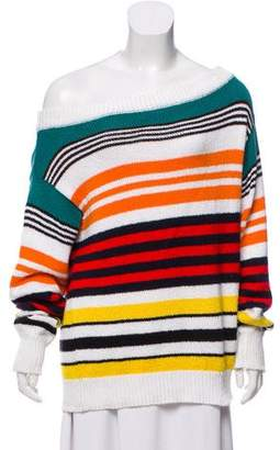 Rosie Assoulin Oversize Striped Sweater
