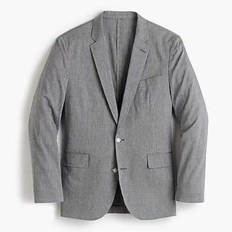 J.Crew Ludlow Slim-fit unstructured suit jacket in stretch cotton