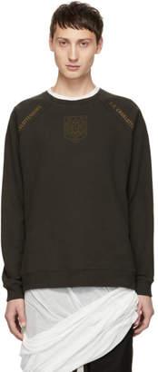 Robert Geller Grey The F.C. Charlottensburg Sweatshirt