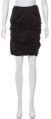Sophia Kokosalaki Ruched Mini Skirt w/ Tags