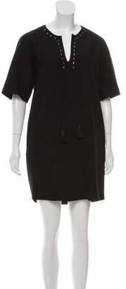 3.1 Phillip Lim Notched Neck Mini Dress