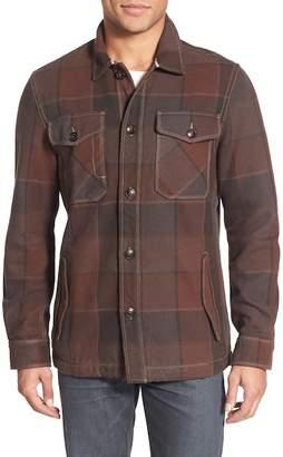 Jeremiah Shelby Plaid Twill Shirt Jacket