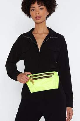 Nasty Gal WANT Neon of Your Business Fanny Pack