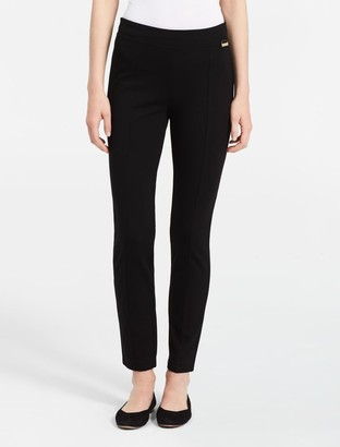 Calvin Klein power stretch seamed compression leggings