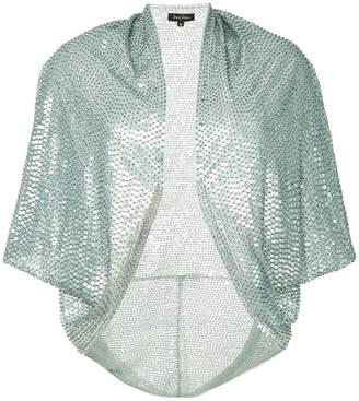 Jenny Packham embroidered sequin bolero