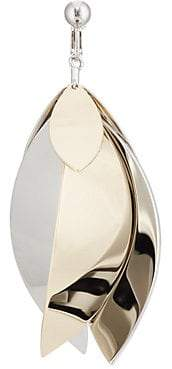 Proenza Schouler Women's Full Leaf Earring - Silver