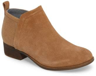 Toms Deia Leather Ankle Bootie
