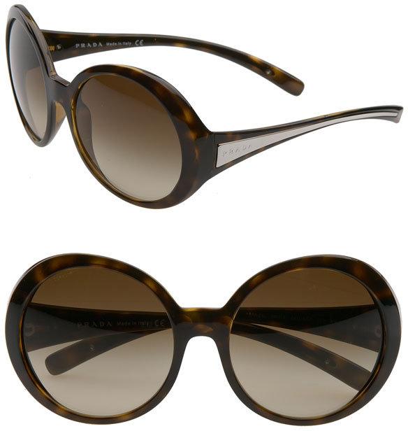 Prada Oversized Round Vintage Sunglasses