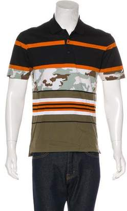 Givenchy Multi Print Polo Shirt w/ Tags