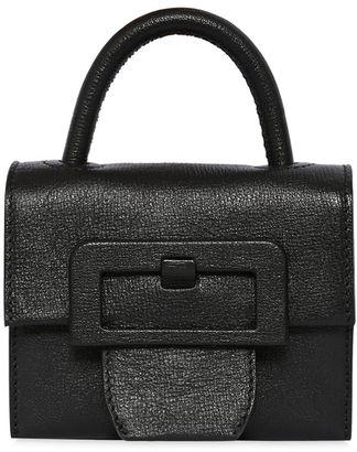 Mini Textured Leather Shoulder Bag $1,995 thestylecure.com