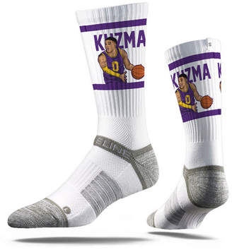 Strideline Los Angeles Lakers Kyle Kuzma Action Crew Socks