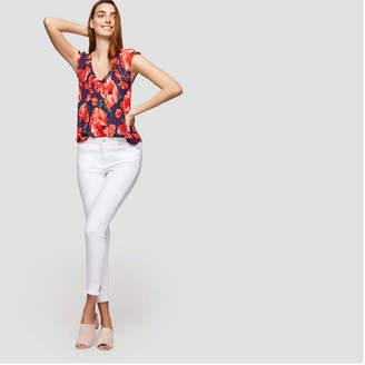 Joe Fresh Women's White Slim Jean