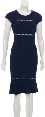 Emilio Pucci Fluted Cutout Dress