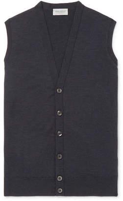 John Smedley Stavely Merino Wool Sweater Vest