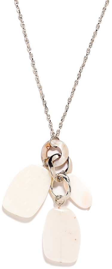 The Limited Cluster Shell Long Pendant Necklace