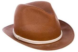 Rag & Bone Straw Fedora Hat