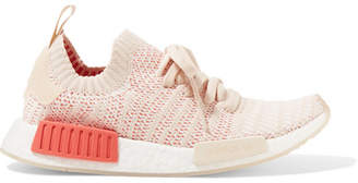 adidas Nmd_r1 Rubber-trimmed Primeknit Sneakers - Peach