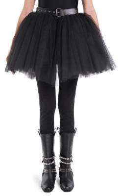 Moschino Tulle Hem Skirt